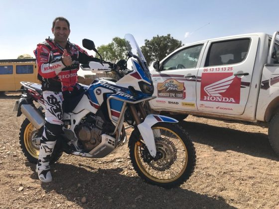 160518 Africa Twin Epic Tour Marrocos Paulo Gonçalves
