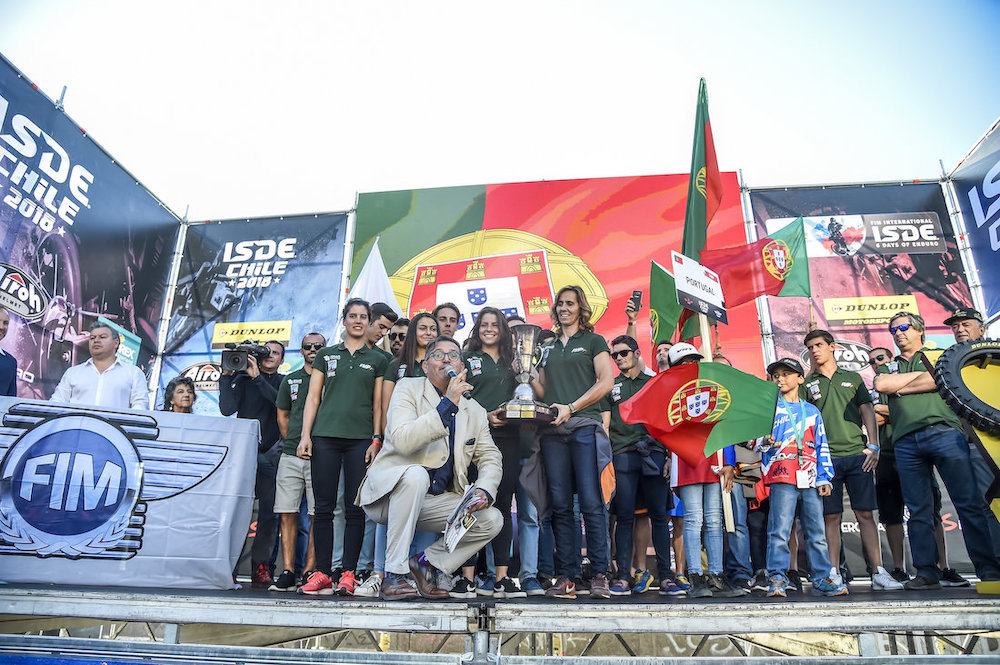 ISDE 2018 Portugal palco