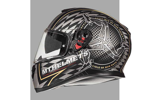 Capacete MT Thunder 3 Sv Isle Of Man