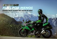 "Kawasaki Z1000 SX com oferta do Pack ""Tourer"""